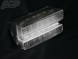 XJR400 〜97 LED クリアーテールランプASSY
