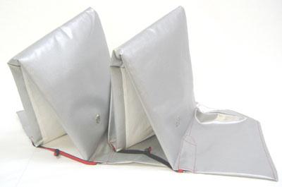 防災頭巾(ニュータイプ) 2個セット【防災用品 防災頭巾 防災グッズ 頭巾 避難用品】(他に3個・4個セット・1個の物が有ります)