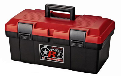 リングスター工具箱 RB-4500(レッド/ブラック) (ジョイクラブRB)【工具箱・プラスチック製 工具箱】★ご必要数量が多い場合はお電話下さい。★☆信頼の リングスター 工具箱 ツールボックス☆