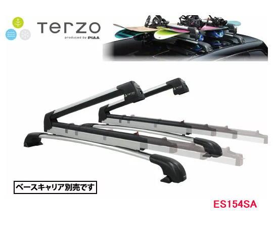 【送料無料】TERZO 品番:ES154SA FLAT600 SLIDE スキー&スノーボードキャリア ベースキャリア取付タイプ マスターキーシステム付き エアロバー/スクエアバー対応  自動車/スキーキャリア/スノーボードキャリア