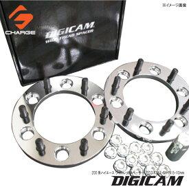 200系ハイエース ワイドトレッドスペーサー P.C.D.139.7-6H-P1.5-10mm DIGICAM / デジキャン