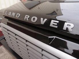 LAND ROVER フロント ボンネットデカール(立体型)ディフェンダー '07〜PUMA デカール DEF