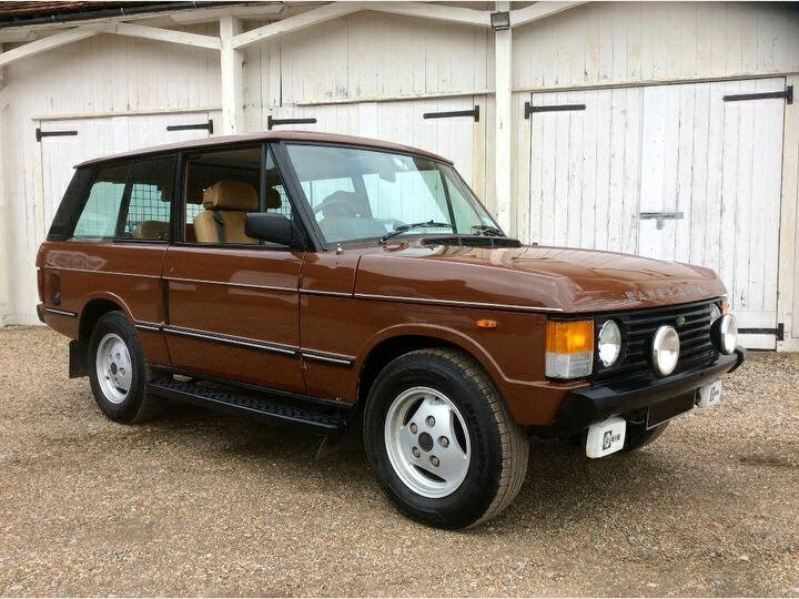Range Rover 3.5 Vogue 3dr BEAUTIFUL AND RARE CLASSIC 2018年8月3日〜販売受付開始