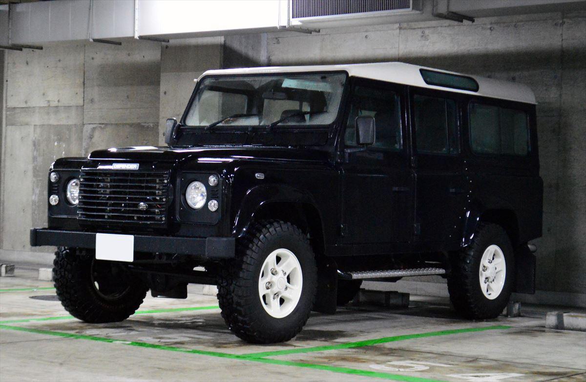 中古ディフェンダー110 2.5 Td5ボディカラー:ブラック6速MT 価格:askお気軽にお問い合わせ下さい!