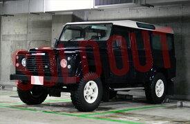 【売約済み】中古ディフェンダー110 2.5 Td5ボディカラー:ブラック6速MT 価格:askお気軽にお問い合わせ下さい!