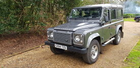 中古 '14 DEFENDER110 XS 英国モデル コリスグレー6速MT 価格:askお気軽にお問い合わせ下さい!