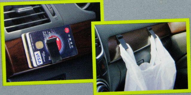 開封済・わけあり 車内にどうぞ 多目的ホルダー 簡単取り付け