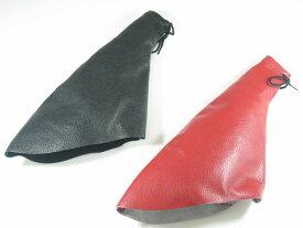 ドレスアップに/2色汎用本革製サイドブレーキブーツ