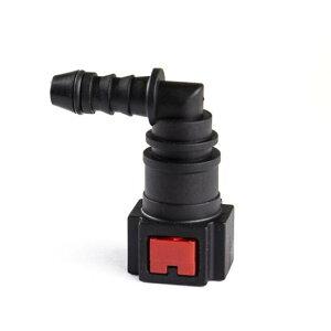 AL 1ピース 尿素水 7.89-ID6 自動車 フューエル ライン メス クイック カップリング コネクタ 5/16 L形 PA12 AL-HH-2280