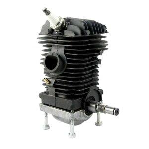 AL チェーンソー エンジン モーター シリンダー ピストン クランクシャフト 42.5MM 適用: スチール 023 025 MS230 MS250 ブラック AL-KK-2299