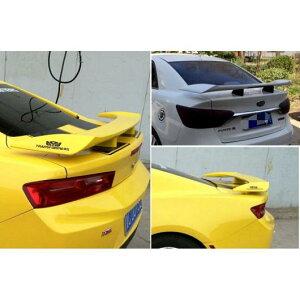 AL 適用: ボルボ/VOLVO S90 スポイラー ABS リア ウイング プライマーカラー 2004 + ユニバーサル LED ライト AL-MM-7111