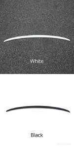 AL 適用: アウディ/AUDI A4 A4L S4 B9 2017-2020 ブラック ホワイト スポイラー ABS プラスチック 未塗装 プライマーカラー リア トランク ウイング スポイラー ホワイト・ブラック AL-MM-7892