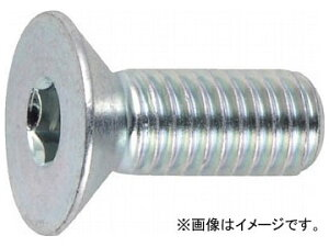 トラスコ中山/TRUSCO 六角穴付皿ボルト三価 白 サイズM5×20 22本入 B7730520(3002403) JAN:4989999294064