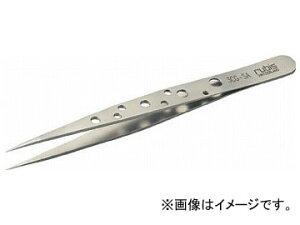 トラスコ中山/TRUSCO 耐酸耐磁ピンセット スイストゥィーズ型 110mm 超極細型 3CGSA(3288951) JAN:4989999266467