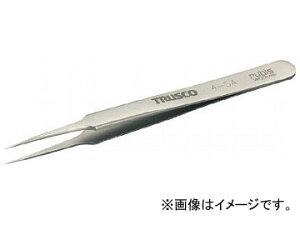 トラスコ中山/TRUSCO 耐酸耐磁ピンセット 110mm 先細超極細型 4SA(2616980) JAN:4989999266177