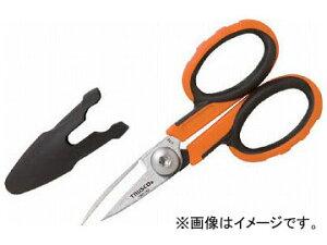 トラスコ中山/TRUSCO ハードはさみ(コンパクトタイプ)ケブラー繊維用 140mm TAH140(4159063) JAN:4989999206203