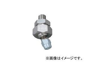 いけうち/IKEUCHI ボールジョイント PP樹脂製 ネジ1/4オス×1/4メス UT14MX14FFRPPIN(3530418)