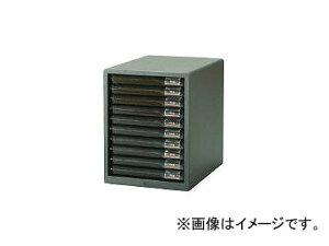 アイリスオーヤマ/IRISOHYAMA レターケース浅型10段 265×350×345 ライトグレー L10SRLGY(3726959) JAN:4905009542604