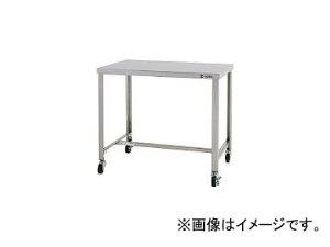東製作所/AZUMA ステンレス作業台 H型枠タイプ スチールキャスター付き CKTHW1200(4525388) JAN:4560155879488