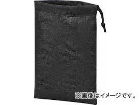 トラスコ中山 不織布巾着袋10枚入 黒 260X180MM TNFD-10-S(4779363) JAN:4989999312737