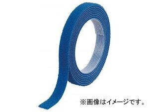 トラスコ中山 マジックバンド結束テープ 両面 幅10mm×長さ5m 青 MKT-10V-B(7541872)