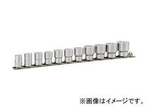 TONE ソケットセット(12角・ホルダー付) インチサイズ HDB311(8109746) 入数:1セット(11pcs)