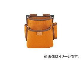 タジマ プロマックス 電工腰袋(2段)ブラウン PM-DE2(8134411)