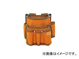 タジマ プロマックス 電工腰袋(2段/工具差し付)ブラウン PM-DE2K(8134587)