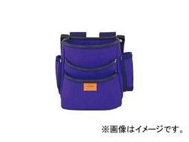 タジマ プロマックス 電工腰袋(3段)バイオレットブルー PM-DE3B(8134591)