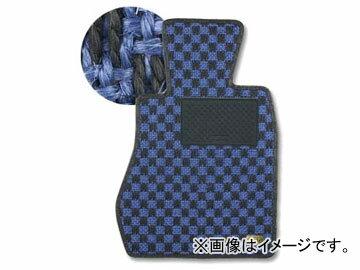 カロ/KARO フロアマット SISAL 品番:218 カラー:ブルー/ブラック他 ダイハツ シャレード G3# FF フットレスト:無 1985年02月〜1986年12月