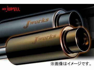 Jworks/ジェイワークス マフラー N1Street Black&Gold スズキ ワゴンR ターボ CT21 F6A