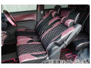 バタフライシステム レース シートカバー CS-MD011-B ミツビシ eKワゴン H82W 2006年09月〜