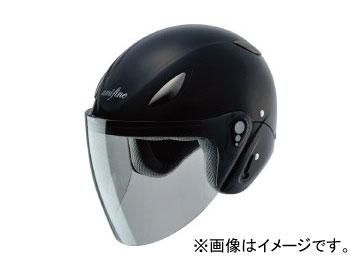 2輪 ホンダライディングギア amifine ヘルメット FH1 ブラックメタリック 品番:0SHGB-FH1A-K