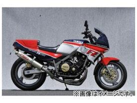 2輪 ヤマモトレーシング spec-A マフラー TI4-1 UP-TYPE チタン 品番:20750-11TTR ヤマハ FZ750