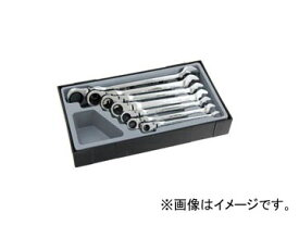 スエカゲツール Pro-Auto フレックスギアレンチセット(インチサイズ) No.FGA-7S JAN:4989530606080