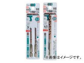スエカゲツール SEK-TOOLS 快速六角軸ドリル 鉄工用 TICN 6.0mm No.PS592