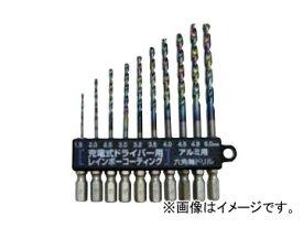 スエカゲツール SEK-TOOLS アルミ用 新快削六角軸ドリルセット No.PS597