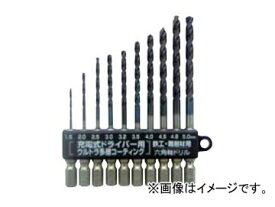 スエカゲツール SEK-TOOLS 鉄工・難削材用 新快削六角軸ドリルセット No.PS598