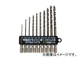 スエカゲツール SEK-TOOLS ステンレス用 新快削六角軸ドリルセット No.PS902
