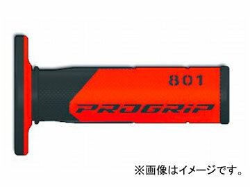 2輪 ラフ&ロード PROGRIP クロスグリップ ブラック×レッド PG801-13