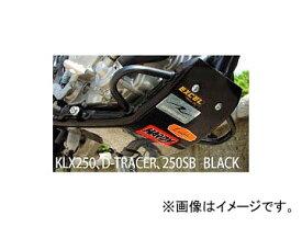 2輪 ラフ&ロード CYCLE-AM スキッドプレートタイプII ブラック 63029 カワサキ KLX250/SR/R,KLX250ES