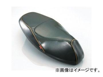 2輪 キタコ プリズムシートカバー ブラック/ゴールドパイピング 613-0411310 JAN:4990852075027 ヤマハ シグナスX(FI車) 28S