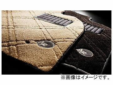 アドミレイション アルタモーダ フロアマット エクセレントダイヤ GFSN271A カラー:ベージュ,ブラック ニッサン インフィニティQ45 G50 1989年11月〜