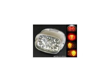 2輪APLEDテールランプクリアAP-BP-183-CLハーレーダビッドソン/HARLEYDAVIDSONナイトトレイン/ファットボーイ/エレクトラグライド1999年〜2007年