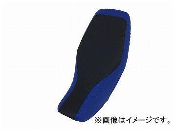 2輪 グロンドマン 国産シートカバー エンボスブラック・エンボスブルー ツートンカラー/黒ステッチ(被せ) 品番:GR5568HC826S10 ホンダ グロム