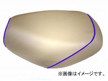 2輪 グロンドマン 国産シートカバー ベージュ/青パイピング (張替) 品番:GH17KC330P50 JAN:4562492999157 カワサキ バリオス(ZR250)