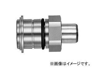 日東工器 マルチカプラ プラグ MAS型(スナップリング固定型) MAS-2P