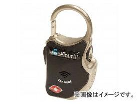 2輪 山城 eGeeTouch スマートトラベルロック ワイヤーplus ブラック GT-1000/BK