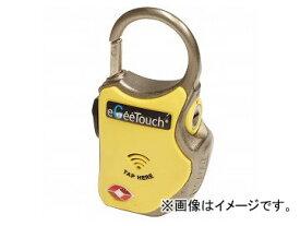 2輪 山城 eGeeTouch スマートトラベルロック ワイヤーplus イエロー GT-1000/YL