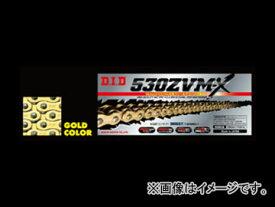 2輪 D.I.D ZVM-Xシリーズ シールチェーン ゴールド 112L カワサキ ZRX1200 ダエグ 1200cc 2009年〜2010年